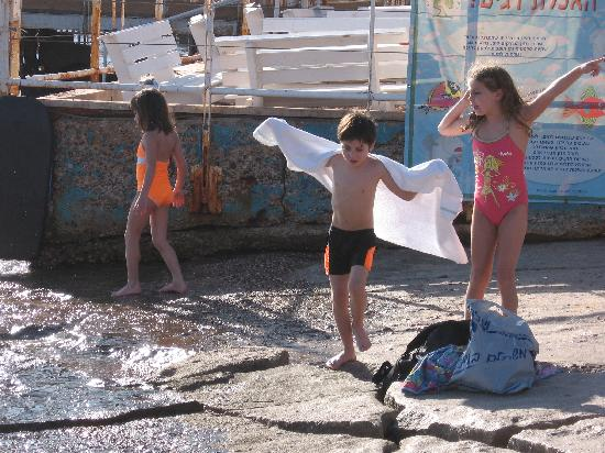 Isrotel Yam Suf Hotel: beach area