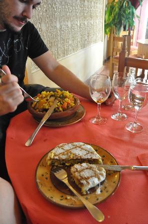 Restaurante Sultan: pastela y cuscus riquisimos!