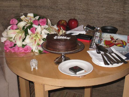Vivanta by Taj - President, Mumbai: Birtthday surprise