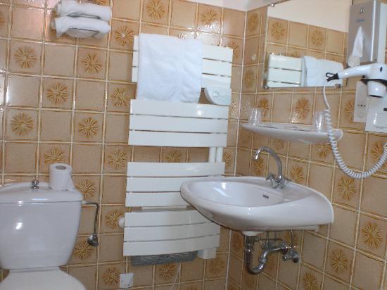 Klingenthal, France: Salle de bains-WC-baignoire