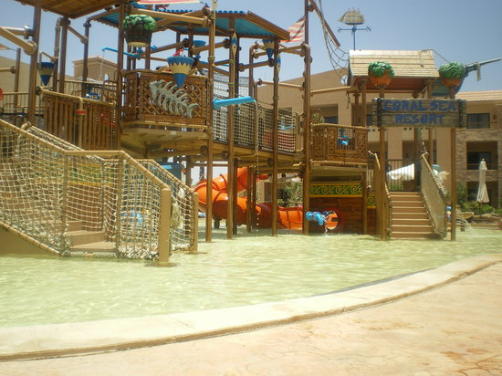 Coral Sea Aqua Club Resort: kids splash area