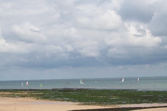 Luc-sur-Mer, Fransa: vue sur la mer
