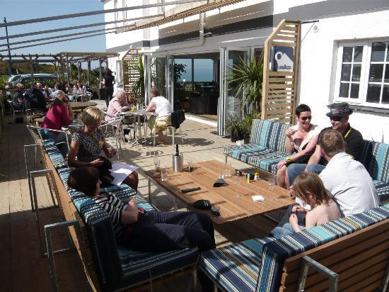 Elements Hotel: the deck