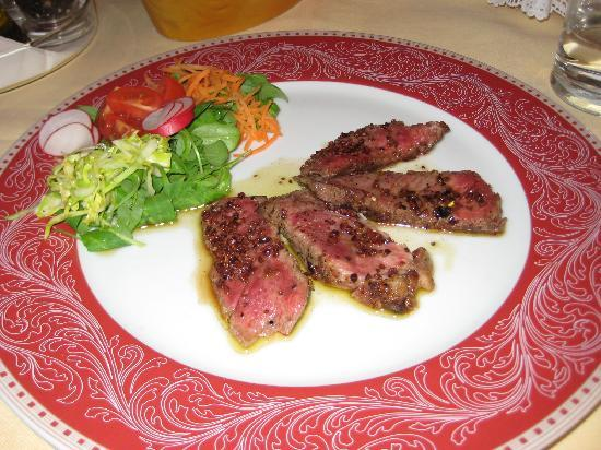 Trieste, Itália: Steak at Furlan (half order)