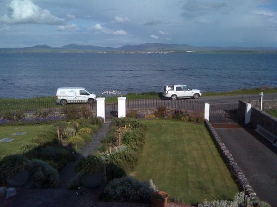 Loch Gorm House: View from bedroom window