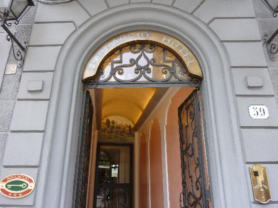 Hotel Boccaccio: Entrata