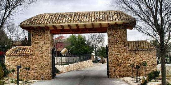 Jumilla, Spagna: Einfahrt zum Hotel