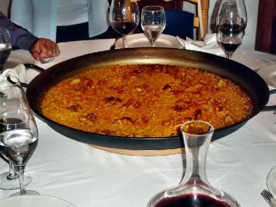 Jumilla, Spagna: Paella