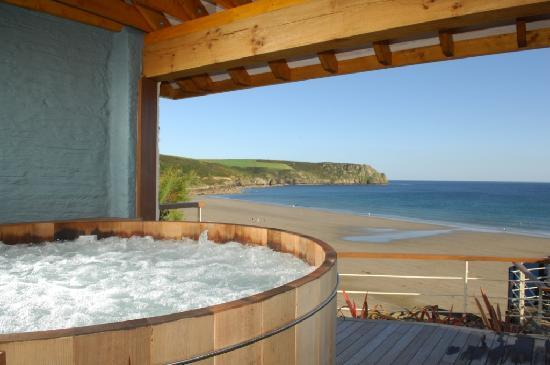 Veryan, UK: The Nare Hot Tub