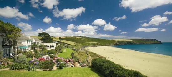 Veryan, UK: The Nare On Carne Beach