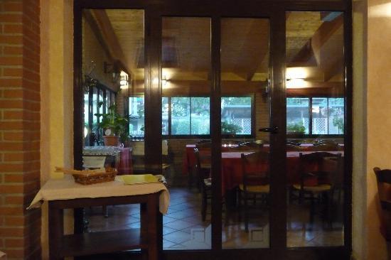 Casa di Maio: Part of Mauro's restaurant