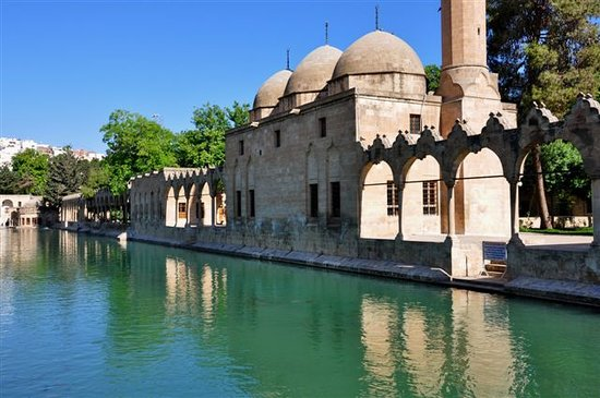 Sanliurfa, Turkije: The lake