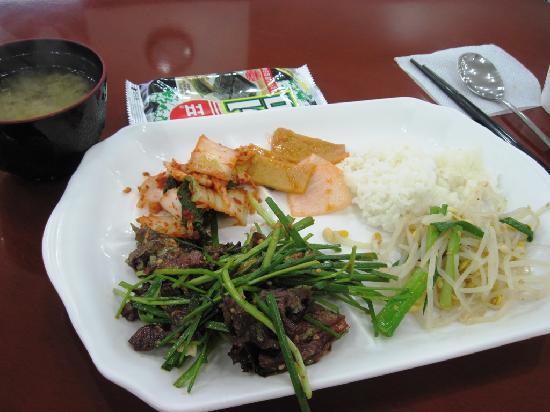 Toyoko Inn Busan No.1: 朝食(簡単な洋食もあります)
