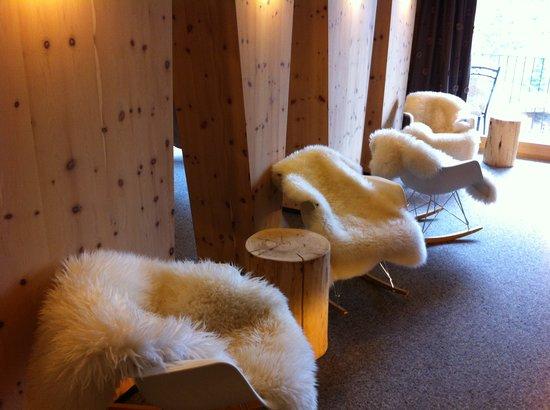 Kinderhotel Almhof: Lounge