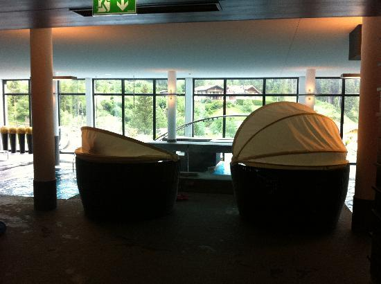 Kinderhotel Almhof: Pool