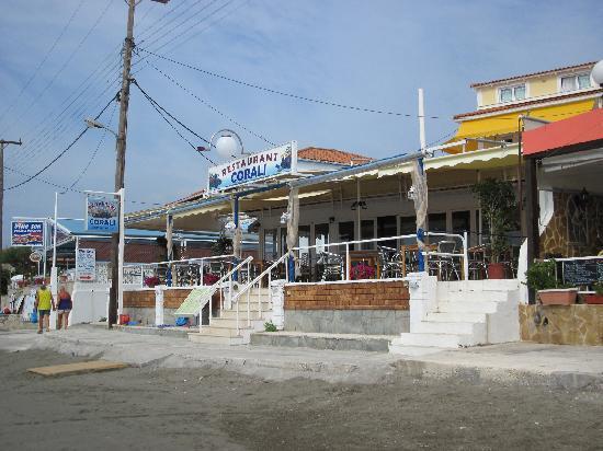 Corali restaurant : Ansicht Restaurant CORALI