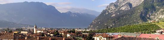 Residence Cascata Varone: Panorama vom Balkon