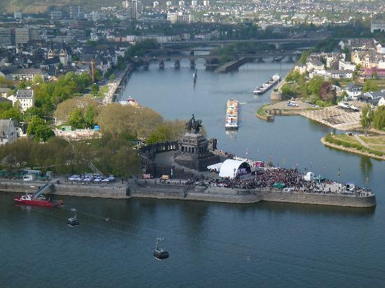 Hotel National: Deutsches Eck