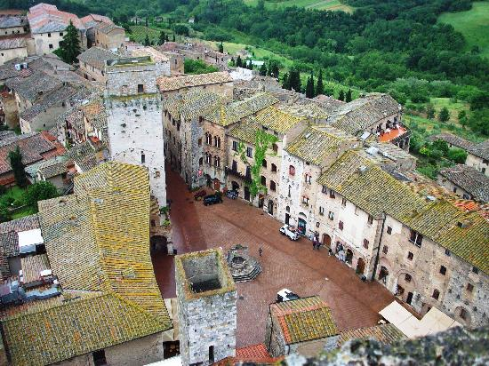 San Gimignano, Italia: A View from Torre Grossa