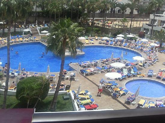 Iberostar Las Dalias : view from our balcony