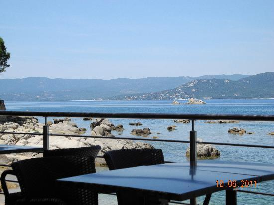 U Livanti : vue de la terrasse
