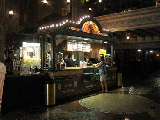 Tampa Theatre: Concession stand