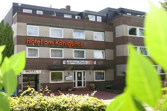 Hotel am Königshof: Fassade vorn