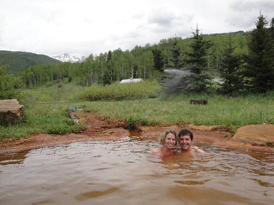 Dunton Hot Springs: A romantic moment in the hotsprings