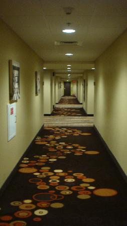 HYATT House San Jose/Silicon Valley: The hallway is wide