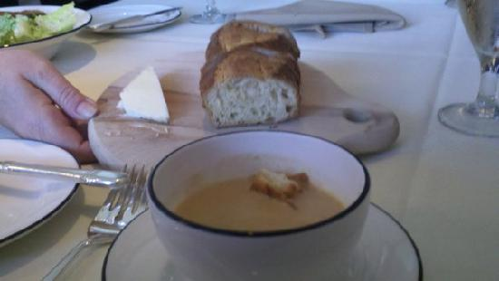 Webster's Prime Steakhouse : Lobster bisque