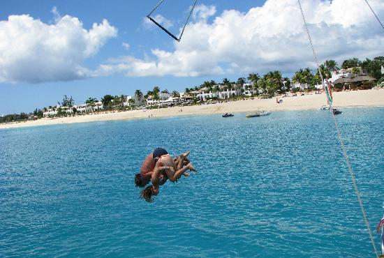Simpson Bay, St. Maarten-St. Martin: Diane & Trevor
