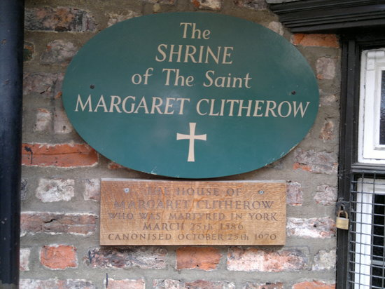 Margaret Clitherow Shrine