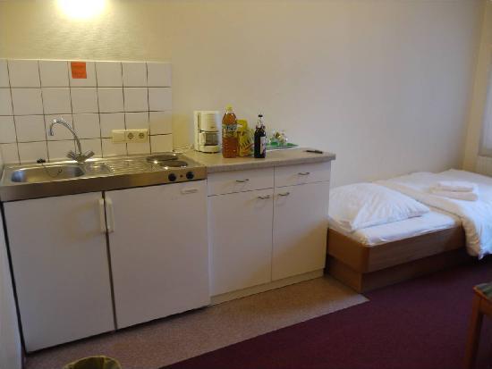 Hotel Aigner: Kitchenette