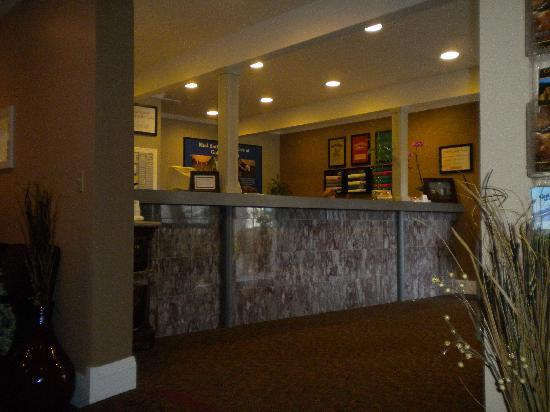 Calistoga Golden Haven Hot Springs Spa: check in area