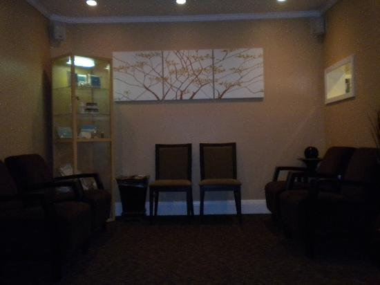 Calistoga Golden Haven Hot Springs Spa: waiting area