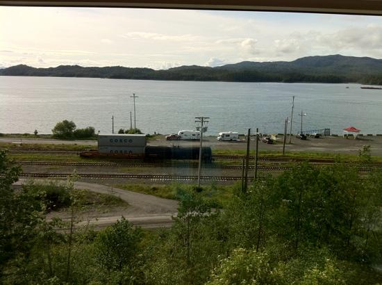 Inn on the Harbour: view from room. peaceful.