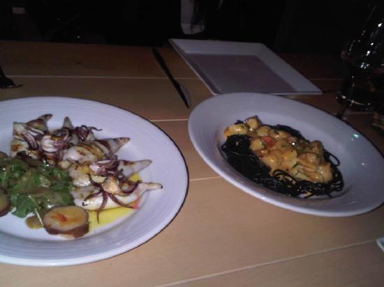 Casa Bella Boutique Hotel: La excelente comida peruana