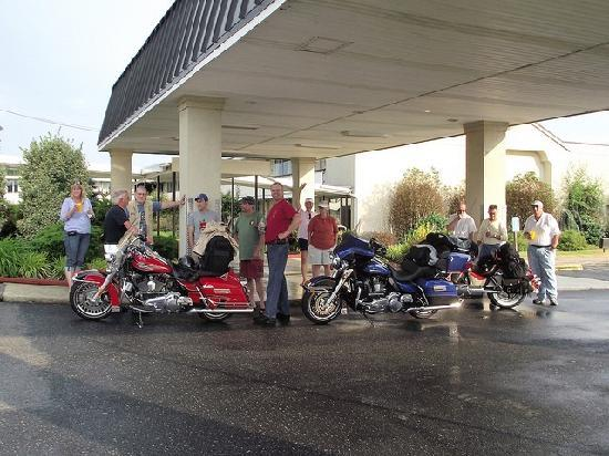 Motel 6 Staunton: Arrival
