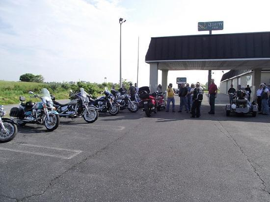Motel 6 Staunton: 1st Ride