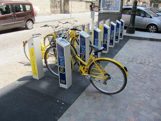 Concord Hotel: Bike sharing vicino all'albergo