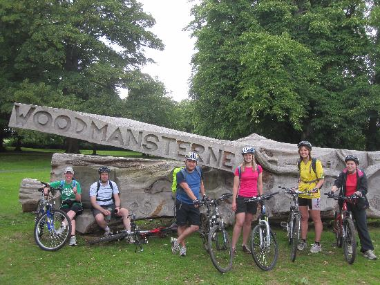 Biker's Delight : In Woodmansterne village on the Wandle River and Wine Tasting tour