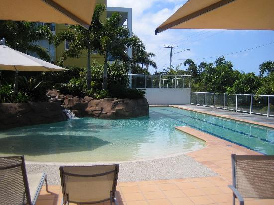 Seachange Coolum Beach: Lap pool and toddlers wading pool