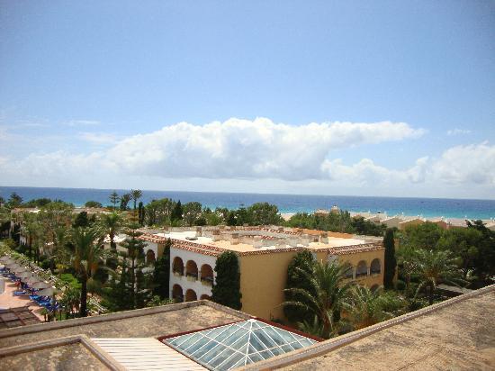 Melia Atlanterra: las vistaas al mar