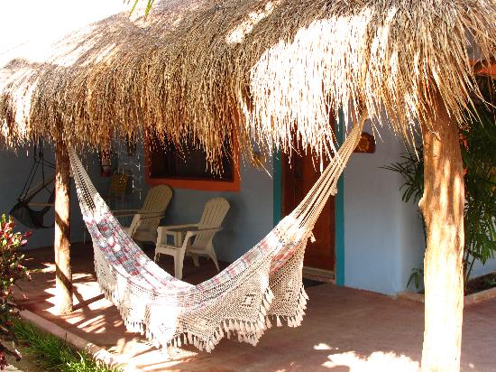 Village Tan Kah: A hammock for a nap!