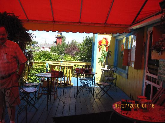 Java Joe's Cafe: Outdoor dining if so inclined