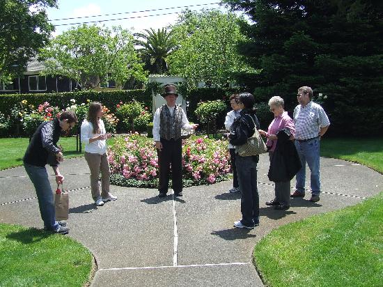 Napa Walking Tour : George and group