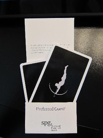 The Chatwal, A Luxury Collection Hotel, New York: In the details! Roomcards.