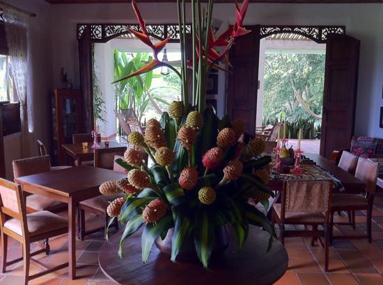 El Delirio Quindio Casa de Campo : dining room