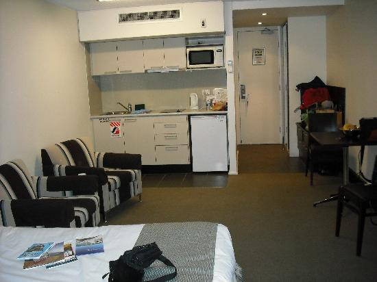 St Ives Apartments: Our large room