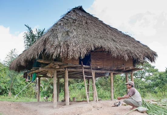 East Timor: Traditional Timorese home